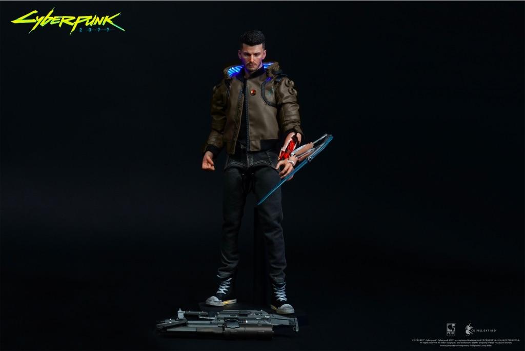 Фигурка Cyberpunk 2077 V Male (мужчина) #4