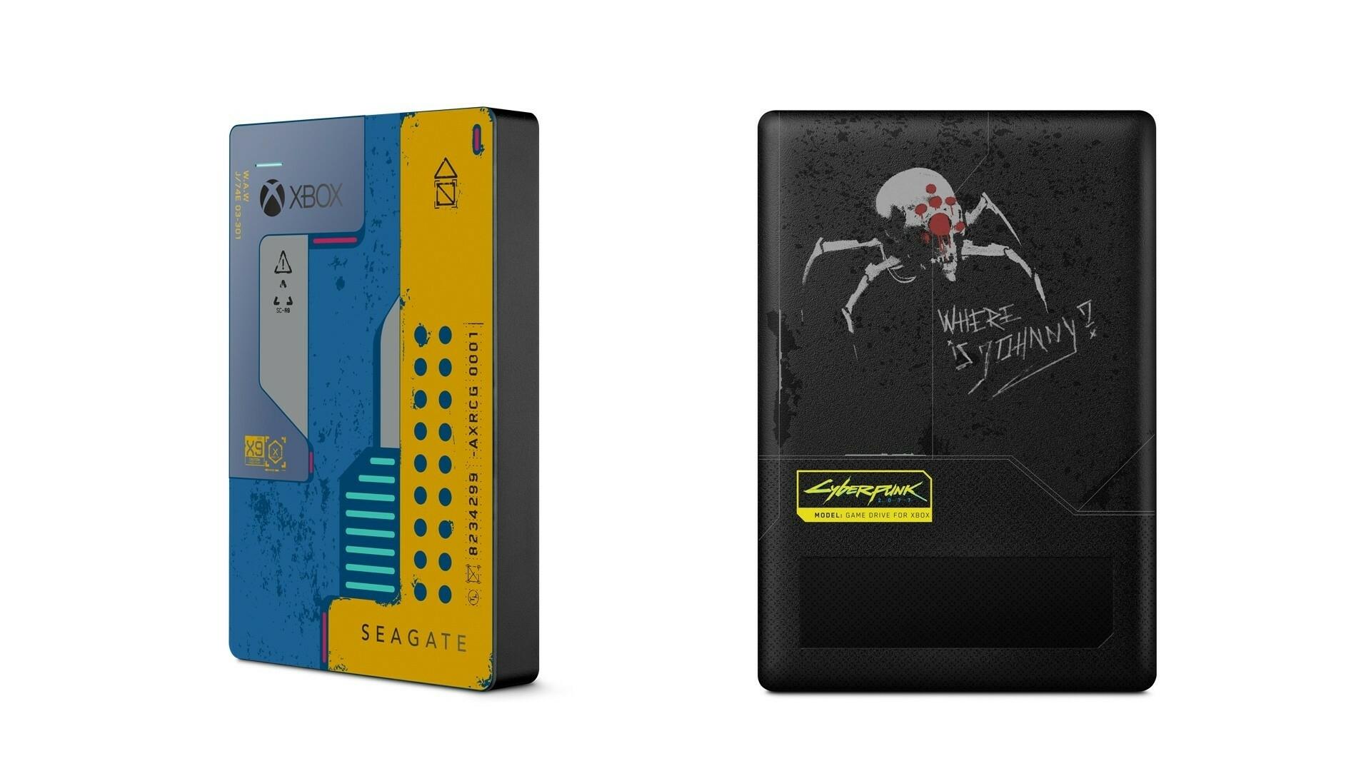 Внешний жесткий диск Seagate Game Drive for Xbox Cyberpunk 2077 Special Edition