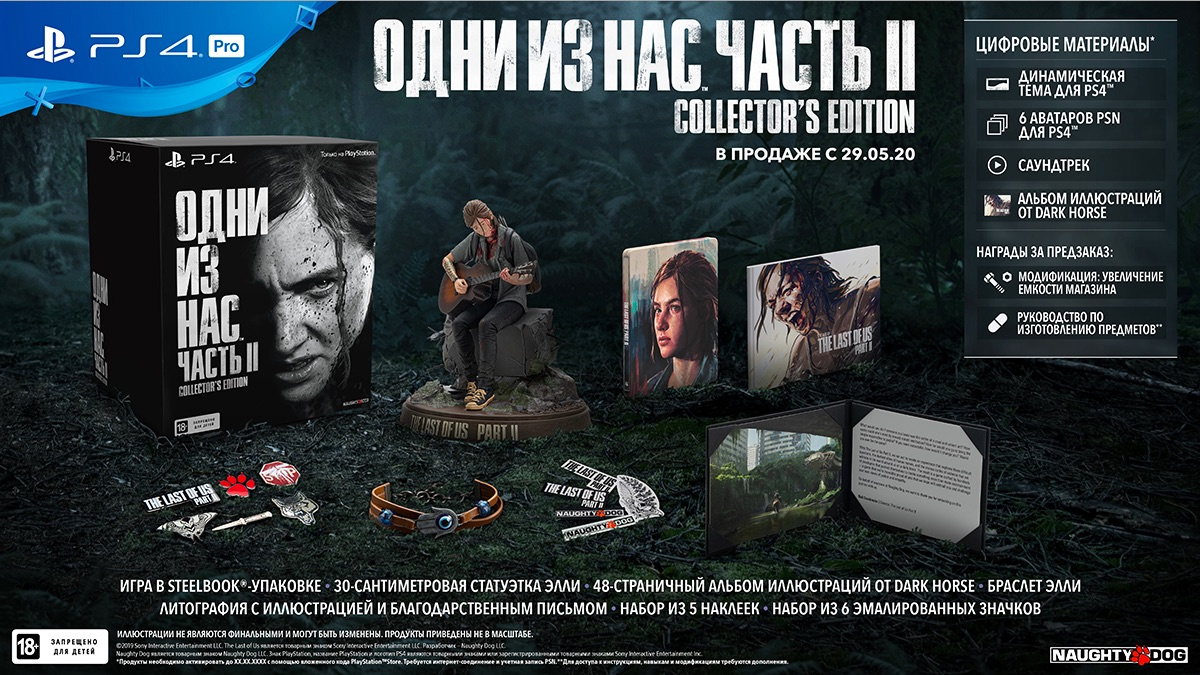 The Last of Us Part II (Одни из нас: Часть II) Collectors Edition