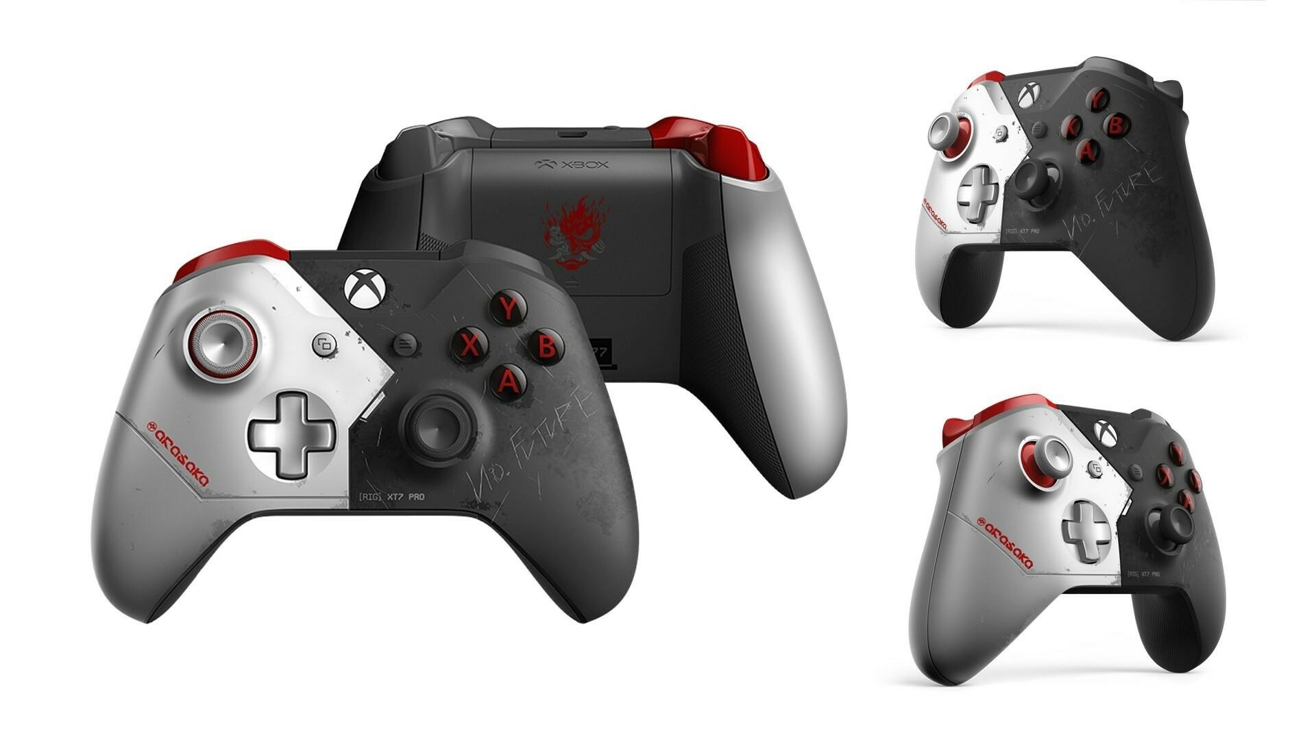 Xbox Wireless Controller Cyberpunk 2077 Limited Edition
