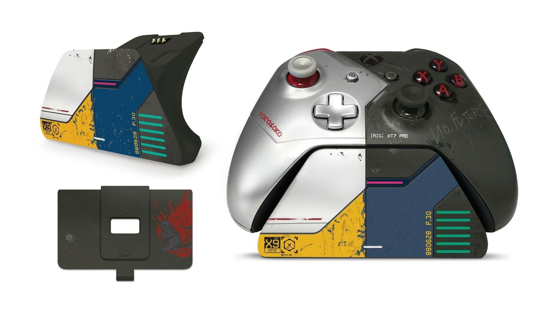 Подставка Xbox Wireless Controller Cyberpunk 2077 Limited Edition