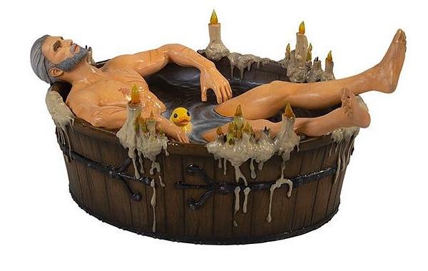 Фигурка Ведьмак 3: Геральт в ванне