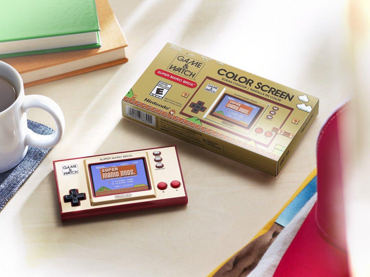 Игровая система Game & Watch Super Mario Bros.