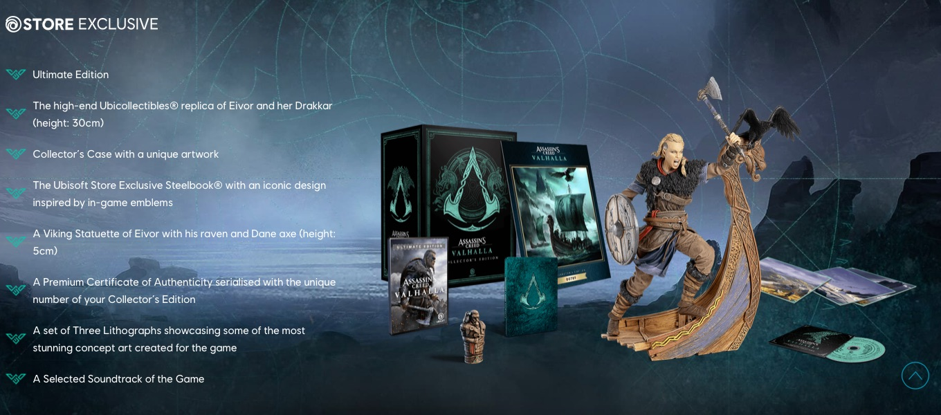 Assassins Creed Valhalla Collector's Edition UbiStore