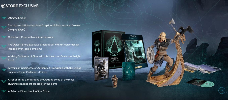 Assassins Creed Valhalla Collector's Edition UbiStore