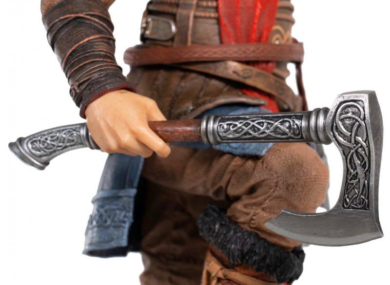 Assassins Creed Valhalla Eivor Male Figurine #4