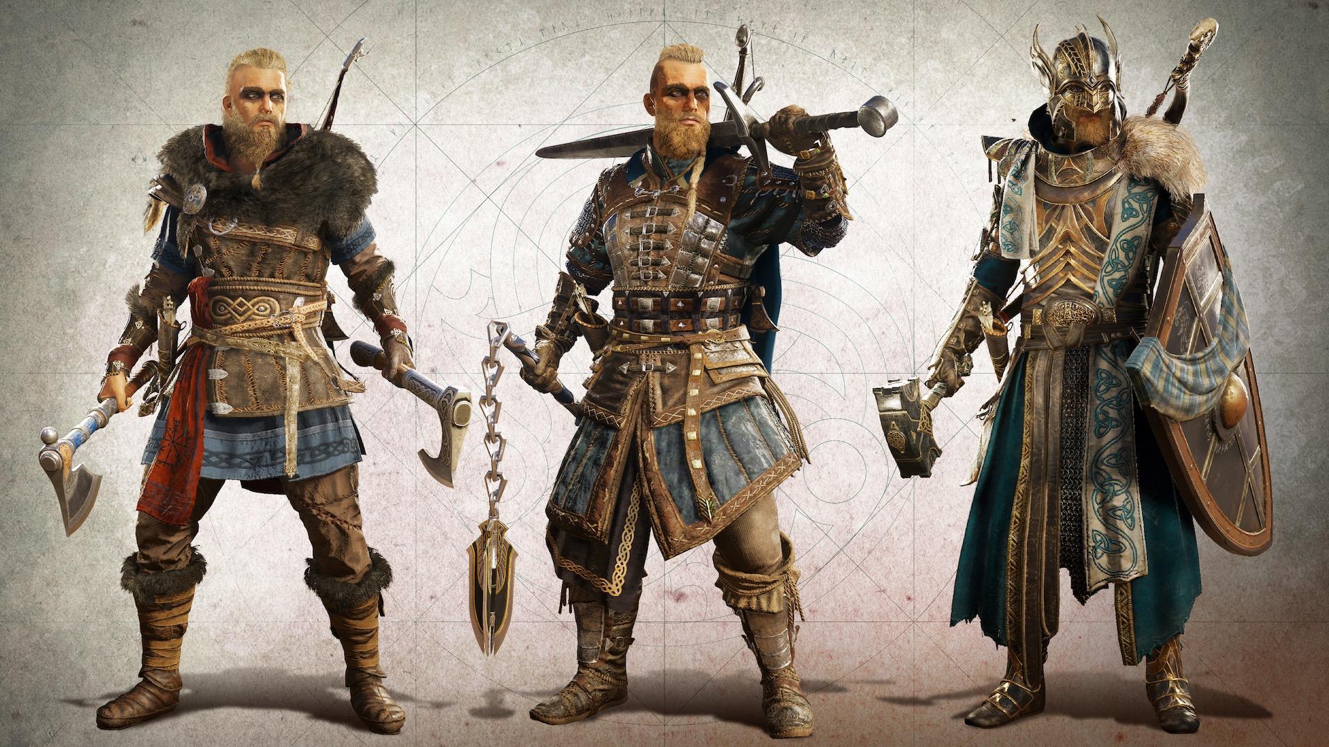 Assassins Creed Valhalla - экипировка Эйвора