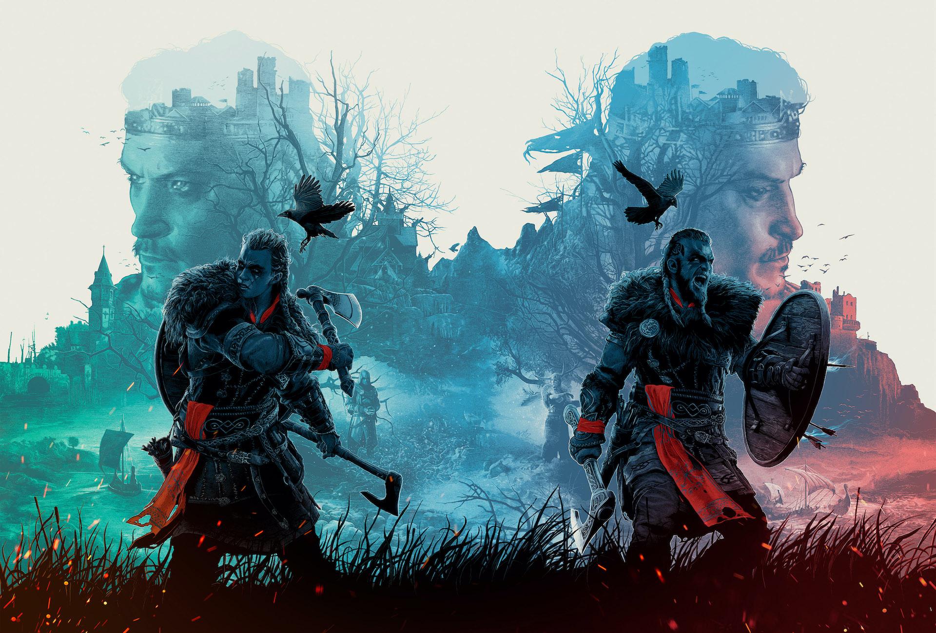 Assassin's Creed Valhalla - Эйвор (женщина и мужчина)