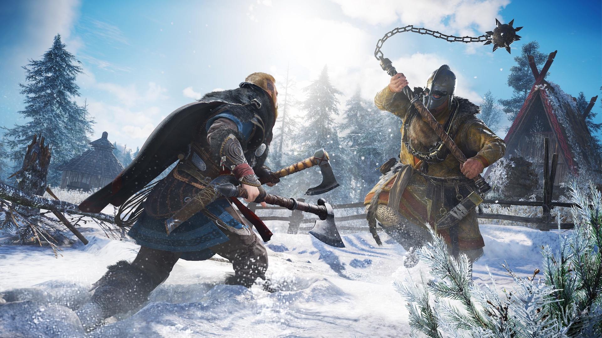 Assassin's Creed Valhalla - боевая механика