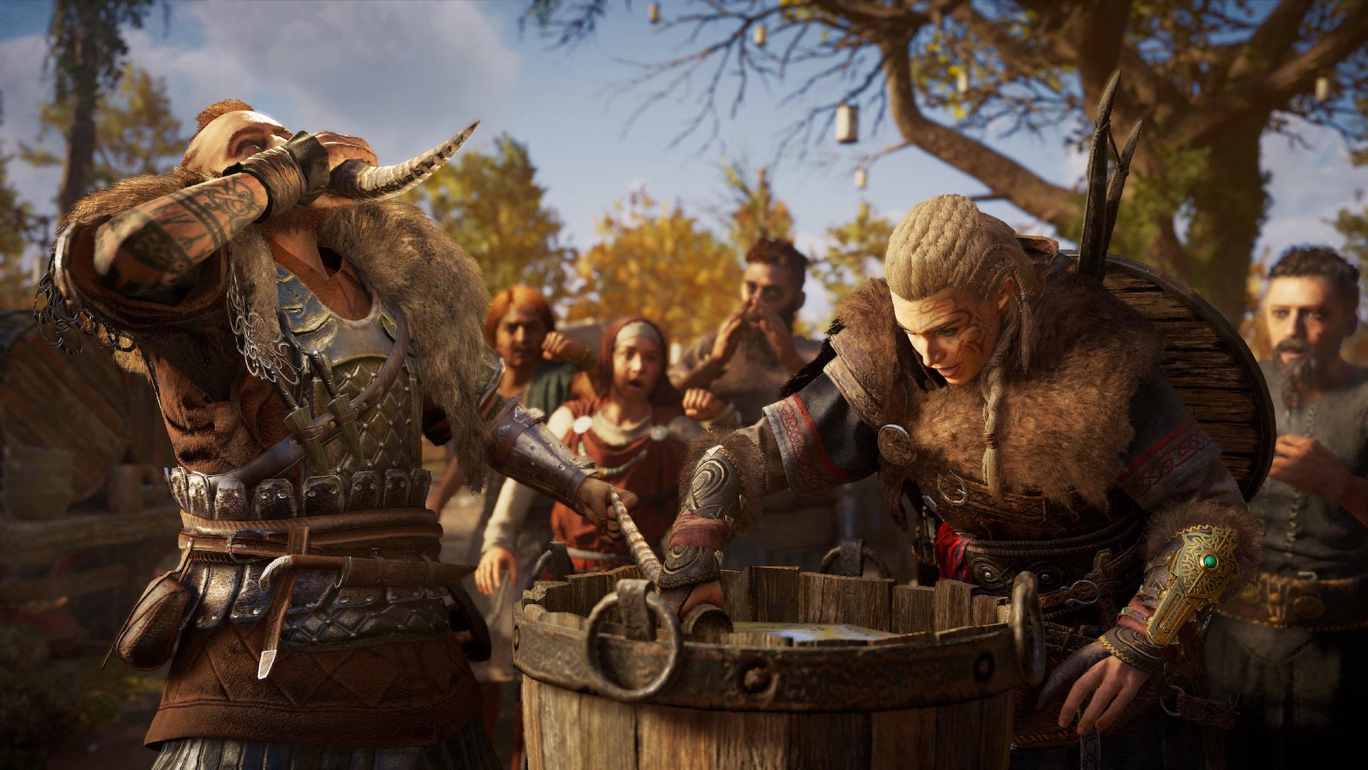 Мини-игры в Assassin's Creed Valhalla: флютинг, кости и прочие