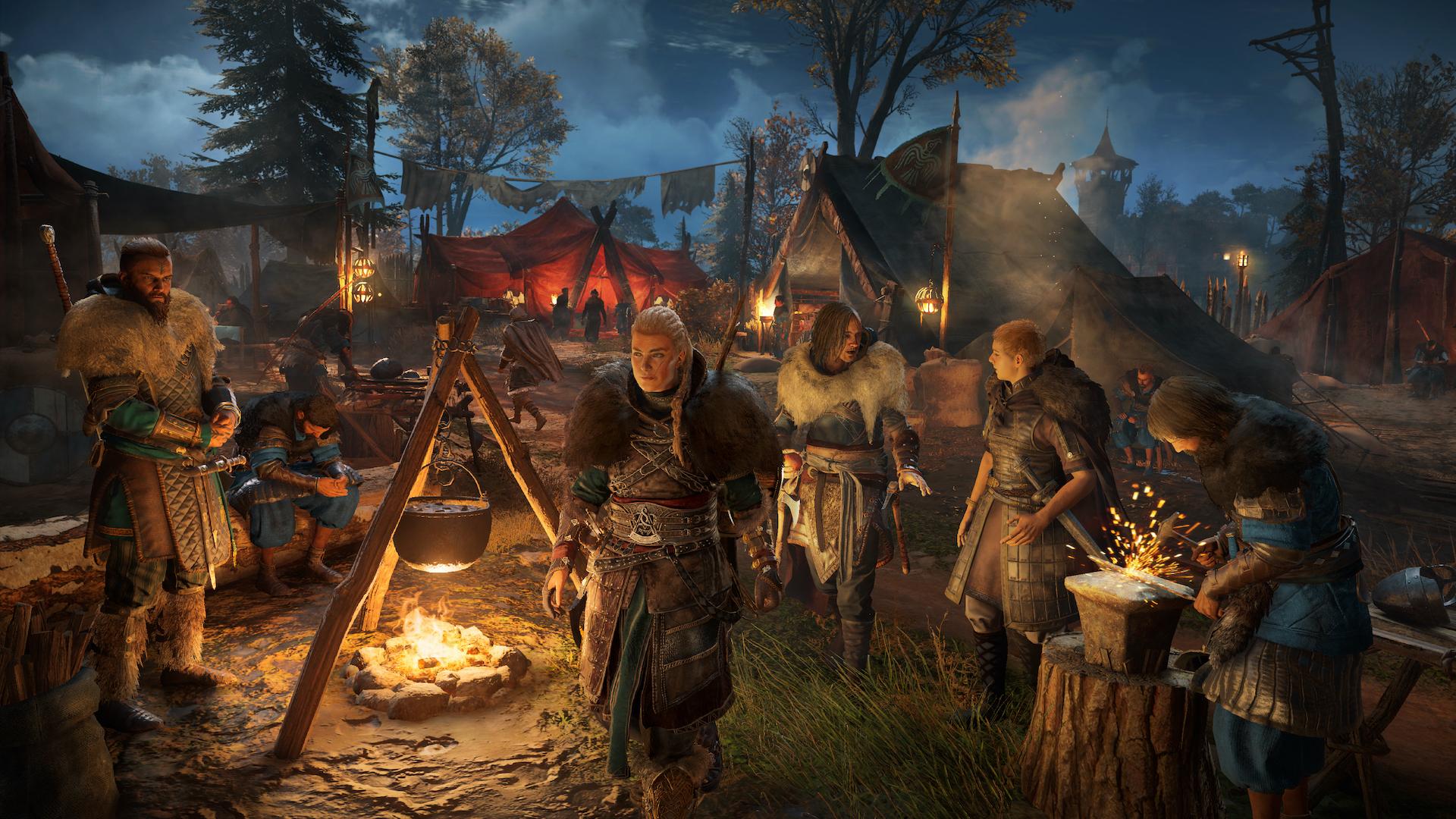 Assassin's Creed Valhalla - поселение Рэйвенсторп