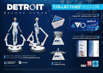 Коллекционное издание Detroit Become Human