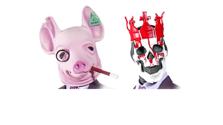 Watch Dogs Legion: маски Winston и King of Hearts