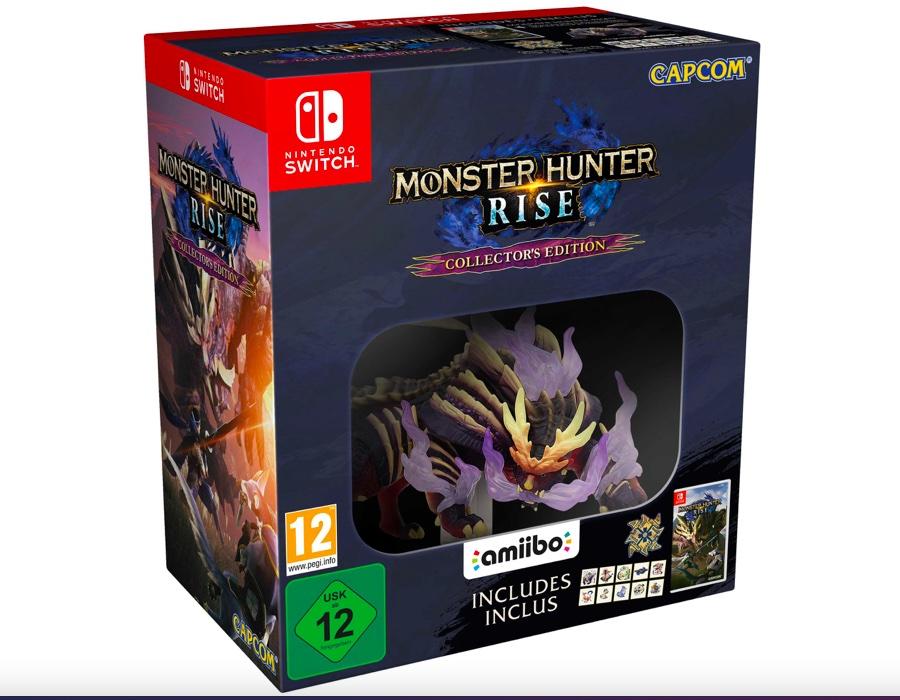 Коллекционное издание Monster Hunter Rise для Switch
