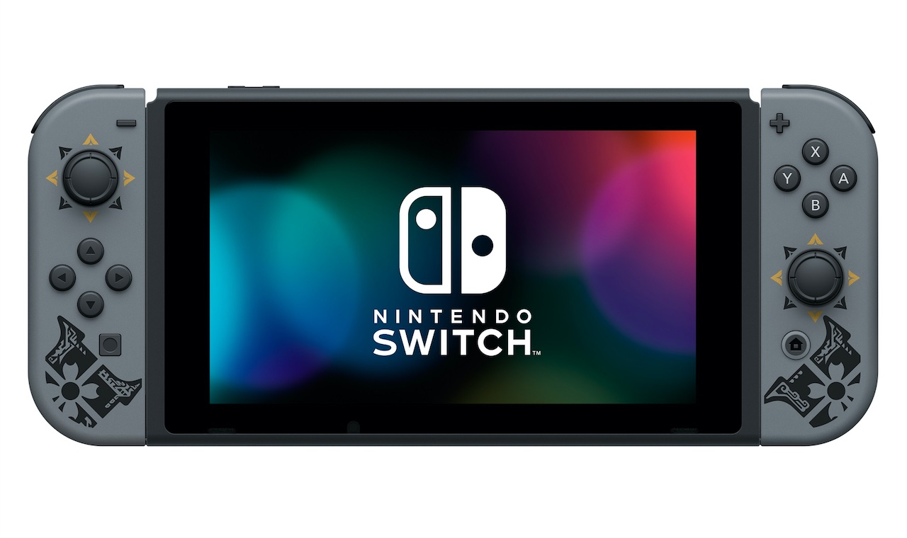 Приставка Switch Monster Hunter Rise bundle