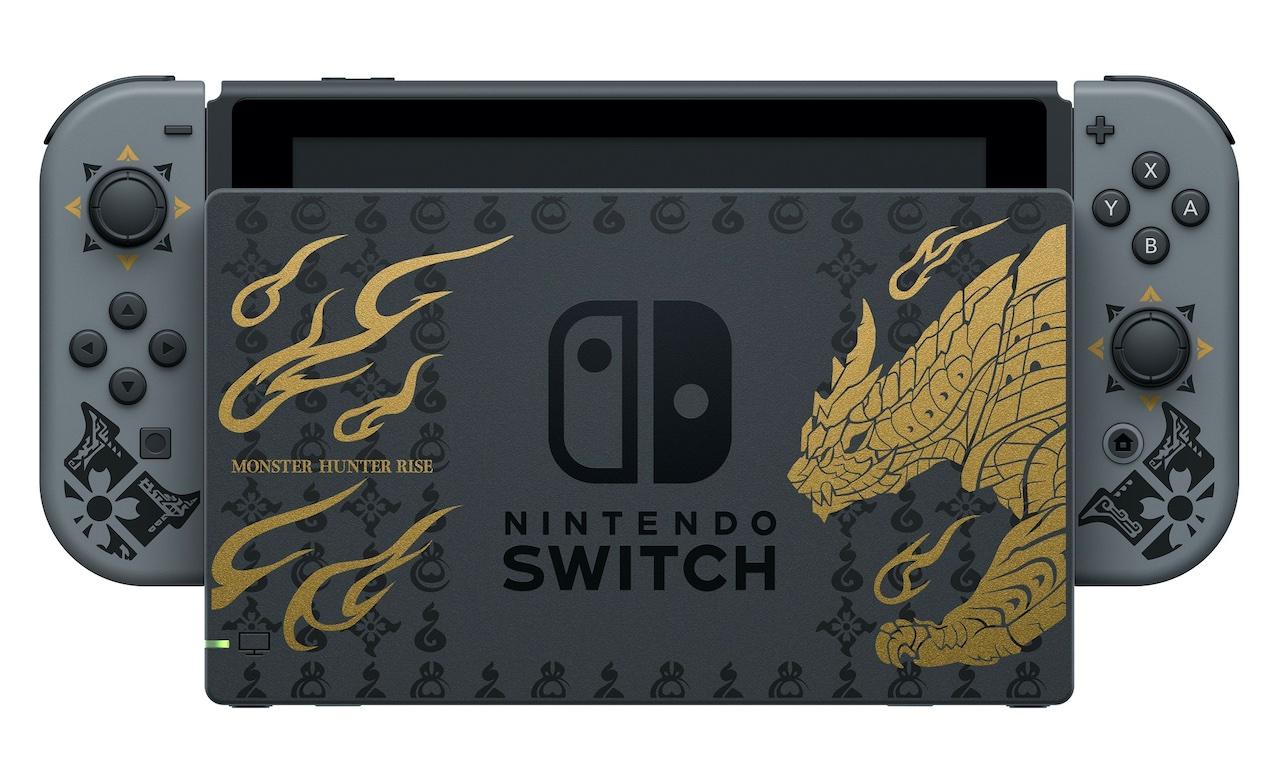 Док-станция Nintendo Switch Monster Hunter Rise
