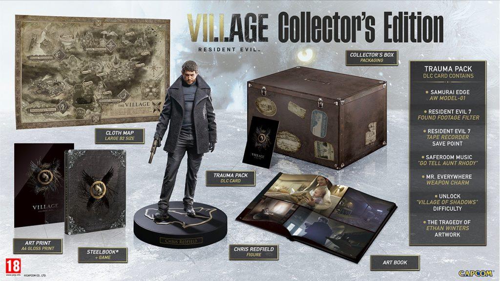 Коллекционное издание Resident Evil Village Collector's Edition